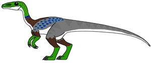 Compsognathus by DinoWrassler620