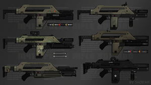 Customisable Pulse Rifles by S-H-0-D-A-N