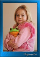 Autumn with Frog by digitalcitizen