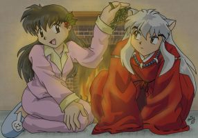 Merry Christmas InuYasha -MWA- by cowgirlem