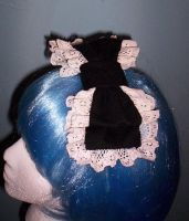 Traditional Gothic Lolita Bow by GothicDorothy