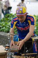Bicyclist Musician by apetc