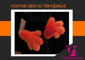 Normal sleeve Handpaws by FurryFursuitMaker