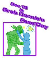 Grab Donnie's Face Day by TMNT-Raph-fan