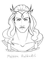 Mairon Aulendil sketch by the-ALEF