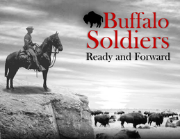 Solitary Buffalo Soldier by Garveate