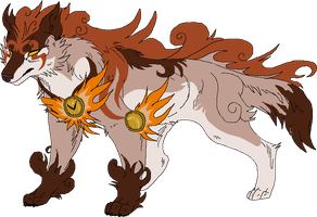 Okami Styled Point D Commission 1 by Kasara-Designs