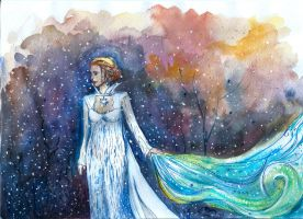 Frost in Storybrooke by eliramouse