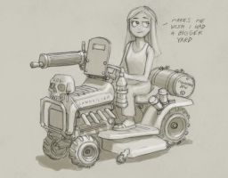 Lawnmower by MikeDoscher