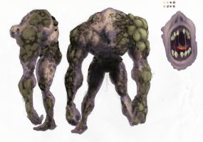 Concept Art: Hill Giant by Krillin