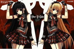 The twins CD cover 2 by ShugoCharaJunkie