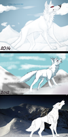 White Wolf remakes by Shiro-Daemon