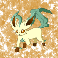 Leafeon by pichu90