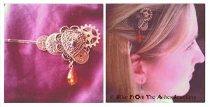 Hair Clip - 'Thought' by RiseFromTheAsh