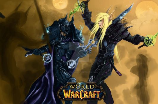 World of warcraft by Clown-Trademark-Z