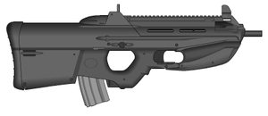 F2000 Tactical by GrimReaper64