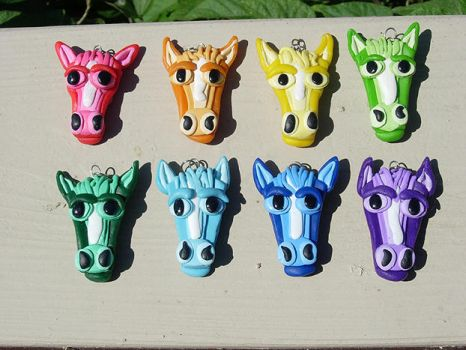 Horse Charms by MamaLucia