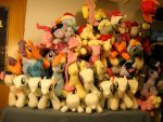 Current Pony Stockpile 3/31/14 by MillerMadeMares