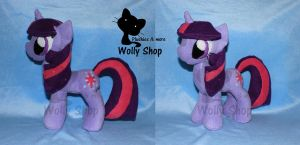 Twiligth!..pony Plush..:3 by Vegeto-UchihaPortgas