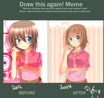 meme: Before and After by sasucchi95