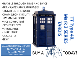 TARDIS for sale by miscellaneousamateur