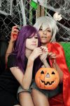 Kaneki and Rize, Humans are delicious !! by Miho-Orihara