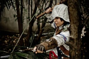 Connor Kenway : My name is Rathonaketon by AxelTakahashiVIII
