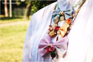 Bow necklaces by marakigr