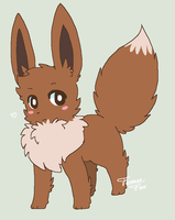 'cause eevee is adurrbz by abby-wut