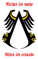 Assassin's Creed German Emblem by VulcanTrekkie45