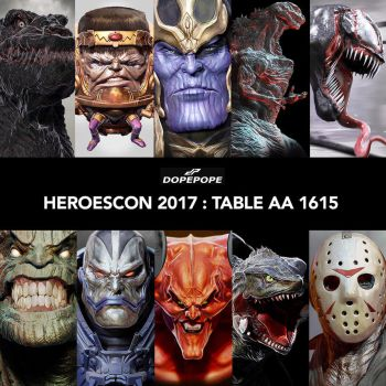 HEROESCON 2017 by dopepope