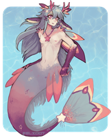 Kirin Mermaid Adopt (CLOSED) by Belzoot