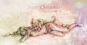 MERRY CHRISTMAS by Psychocereals
