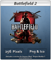 Battlefield 2 - Icon 2 by Crussong
