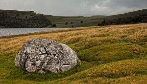 A Rock in a hard place by BikeBoyPunk