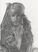 Jack Sparrow by FromPencil2Paper