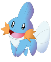 Mudkip by NIGHTSandTAILSFAN