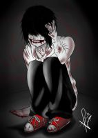 Jeff The Killer by Vheronnica