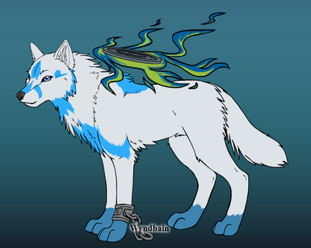 Spirit Wolf by TheWingedOnes