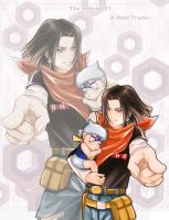 Android 17and Baby Trunks by DYKC