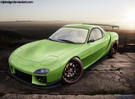 Mazda RX7 by RDJDesign