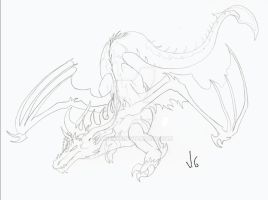 Draxy Contest Lineart by Meerin
