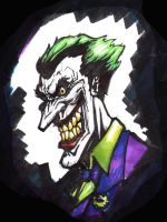 joker sketch by freddylupus