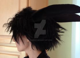 Black Rabbit wig test by Bwabbit