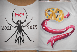 MCR Tribute Shirt (Front and Back) by ArtisticKillJoy