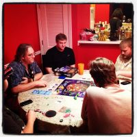 Outworlders Game Night 1 by wiebkefesch