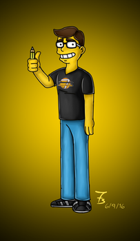 Style challenge - Simpsons style by setes7s