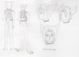 Sefra Bunny - Design Sheet by FallenAngelSefra
