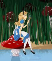 Alice in Wonderland by wampirekanju