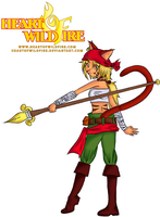 Heart Of Wild Fire entry by larah131313